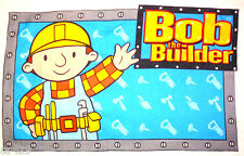 "25.5"" BOB THE BUILDER JUMBO CHARACTER WALL SAFE FABRIC DECAL CUT OUT"