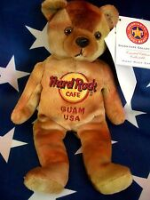 HRC Hard Rock Cafe Guam Brown Metallic Tye Dye Bean Beara LE Herrington 2009