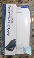 SAMSUNG Galaxy S3 White Protective Flip Cover, EFC-1G6FWEGSTA BRAND NEW in FB
