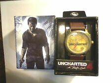 ACCUTIME NAUGHTY DOG SONY PLAYSTATION UNCHARTED 4 A THIEFS END WRIST WATCH NEW