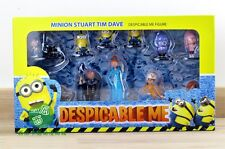 Despicable Me Lot of 12 Figurines Minions Gru Dr. Nefario Lucy Margo Agnes Edith