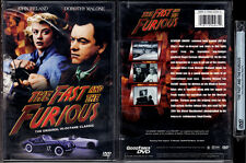 DVD John Ireland FAST AND THE FURIOUS Dorothy Malone racing FS B&W R1 OOP NEW