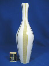 Well shaped 60´s design Heinrich & Co porcelain vase Porzellan Vase 1662  30,5cm
