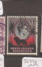 Kenya Uganda & Tang 1938 KGVI Lion SG 150 VFU copy 1 (7day)