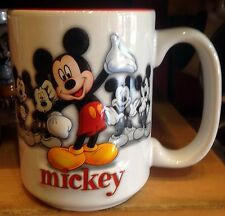 Mickey Mouse Disney World Faces Coffee Tea Mug Cup Disney Theme Parks NEW