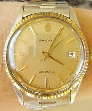 Stunning 1960s/70s Gents GP Sandoz Auto 25 Jewel ETA 2783 Date Watch Serviced
