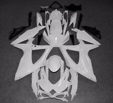 ABS Bodywork Fairing kit For Suzuki GSX-R 600/750 2008-2010 2009 Unpainted white
