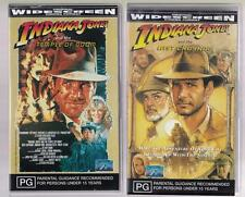 Indiana Jones x2 Movies   *RARE VHS TAPES*  Action