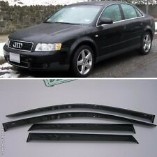 For Audi A4 Sd B6/B7 2000-2008 Window Visors Side Sun Rain Guard Vent Deflectors