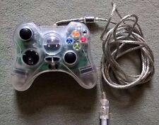 Controlador Original Xbox Claro con Cable