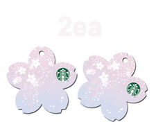 Starbucks KOREA 2017 Cherry Blossom Card 2ea 1SET, March 21, launch