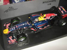 1:18 RED BULL Renault RB8 2012 S. Vettel Brazil GP 110120101 MINICHAMPS OVP NEW