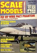 SCALE MODELS MAGAZINE 1983 AUG BATTLECRUISER HOOD 1917, AUSTRO-HUNGARIAN ACES