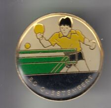 RARE PINS PIN'S .. SPORT TENNIS DE TABLE PING PONG CLUB TEAM QUESTEMBERT 56 ~CZ