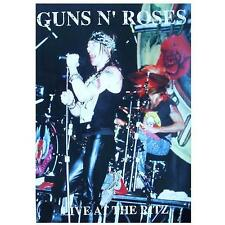 "GUNS N' ROSES POSTER  ""LIVE AT THE RITZ"""