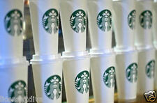STARBUCKS REUSABLE 16 OZ PLASTIC CUP WITH LID! GRANDE! FREE SHIP! ONE PER ORDER