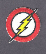 THE FLASH LOGO-JUSTICE LEAGUE PATCH-DC COMICS-Iron On  Patch/TV, Movie,Cartoons,