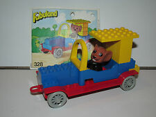 LEGO FABULAND No 328 MOE MOUSE'S ROADSTER 100% COMPLETE + INSTRUCTIONS 1980s