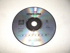 GRAN TURISMO 2 PLATINUM ARCADE MODE SONY PLAYSTATION 1 PS1  PAL DISC ONLY