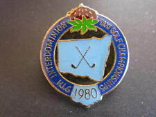 9th Interdominion Taxi Golf Championships 1980 Badge