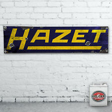 1700 X 430mm HAZET Banner  –  heavy duty,  workshop, garage, man cave retro