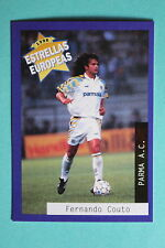 PANINI ESTRELLAS EUROPEAS 1996  N. 86 PARMA COUTO MINT!!!
