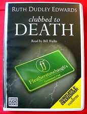 Ruth Dudley Edwards Clubbed To Death Robert Amiss 6-Tape UNABR.Audio Bill Wallis