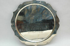 Scarce Dedication Plaque USS PHOENIX SSN702 Nuclear Powered attack Submarine