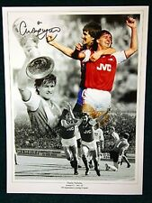 Charlie Nicholas Signed Arsenal Large Photograph