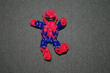Rainbow Loom Spiderman Charm Super Spider Man Action Figure.