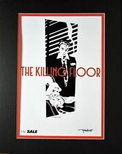 KILLING FLOOR Professionally Matted Print HAND SIGNED by Artist Tim Sale w COA