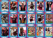 West Ham United 2012 Football League Playoff final winners trading cards