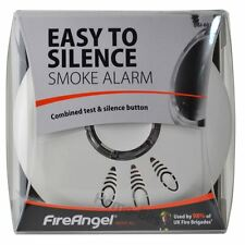 Fireangel SI-601 Ionisation Smoke Alarm Detector with Easy Hush Battery Included