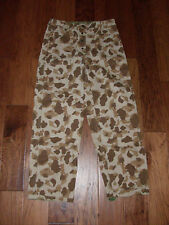 U.S MILITARY WWII MARINE CORPS CAMOUFLAGE REPRODUCTION REVERSIBLE  PANTS 34-32