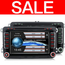 VW PASSAT DVD GPS CD Player Sat Nav for T5 Polo Sharan TOURAN TIGUAN GOLF Skoda