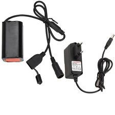6400mAh Recargable 4.2V-5V 4*18650 Batería Paquete Para Bicicleta Luz+Cargador