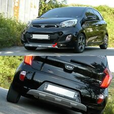 Front & Rear Bumper Diffuser for KIA Picanto 2011-2015