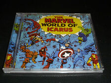 CD.ICARUS.THE MARVEL WORLD OF ICARUS.SUP HEAVY PROG UK 72. SUR LES SUPER HEROS