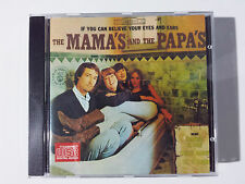 """THE MAMA'S AND THE PAPA'S """"IF YOU CAN BELIEVE"""" SPANISH CD FROM """"ROCK"""" COLLECTION"""
