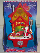 Hallmark Northpole 2014 Special Ed. SANTA'S CHECKLIST Music Motion and Light New