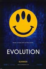 EVOLUTION Movie POSTER 27x40 B David Duchovny Julianne Moore Orlando Jones Seann