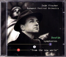 Ivan FISCHER: DVORAK Symphony 8 & 9 From the New World CD Budapest Festival Orch