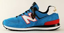 New Balance US574 Made in USA Men's Sneakers Size 8.5 D Blue Red White