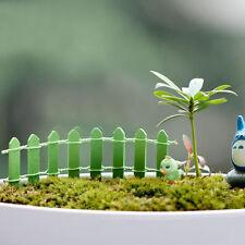 Mini Holzzaun Sukkulenten Moss Micro Landschaft Dekoration Garten Stakes Neue