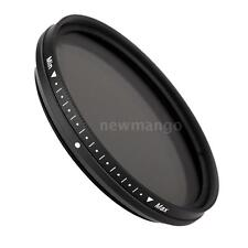 Fotga 52mm Fader Variable ND Filter Adjustable Neutral Density ND2~ND400 GQ3H