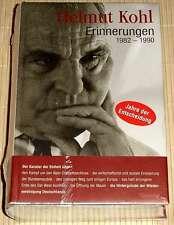 NEU, OVP - Helmut Kohl - ERINNERUNGEN 1982-1990 - Jahre der Entscheidung - HC