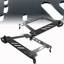 2X Steel Planted Racing Seat Mounting Bracket For 240SX KA24DE SR20DE S13 S14