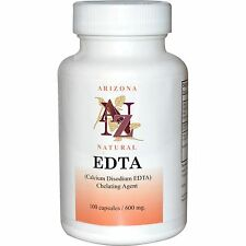 Arizona Natural, EDTA, 600 mg, 100 Capsules