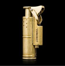 Collectable Solid brass/Copper oil cigarette smoking oil Trench lighter