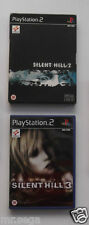 SILENT HILL 2 & SILENT HILL 3 for PLAYSTATION 2 'VERY RARE & HARD TO FIND'